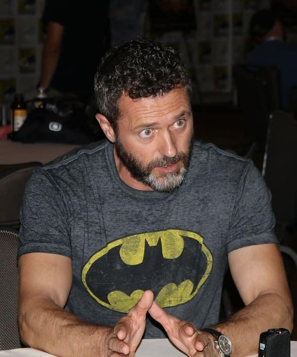 Jason O'Mara on How He Keeps His Batman Performance Genuine – SDCC Death of Superman Premiere