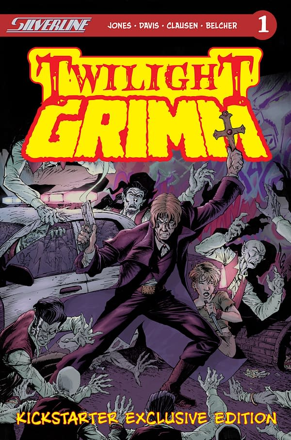 Bulletproof Monk's R.A. Jones Brings Us Twilight Grimm.