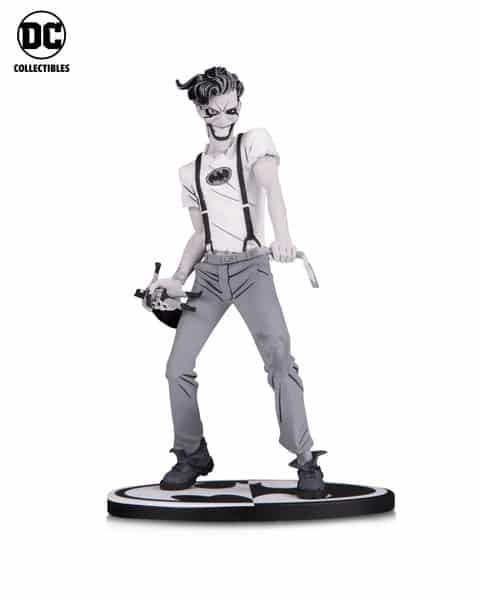 DC Collectibles NYCC Black and WHite Joker Murphy Statue