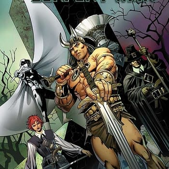Conan/Moon Knight/Solomon Kane/Dark Agnes Crossover With Serpent War