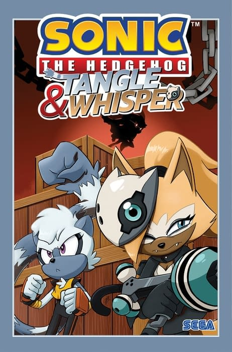 The cover of Sonic The Hedgehog: Tangle & Whisper Vol. 1 published by IDW Publishing.