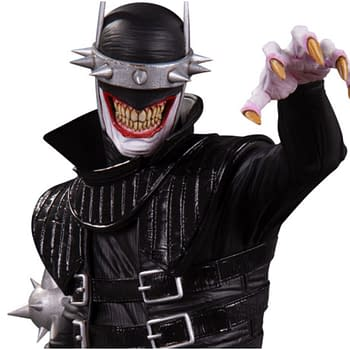 The Batman Who Laughs Strikes a Pose with DC Collectibles