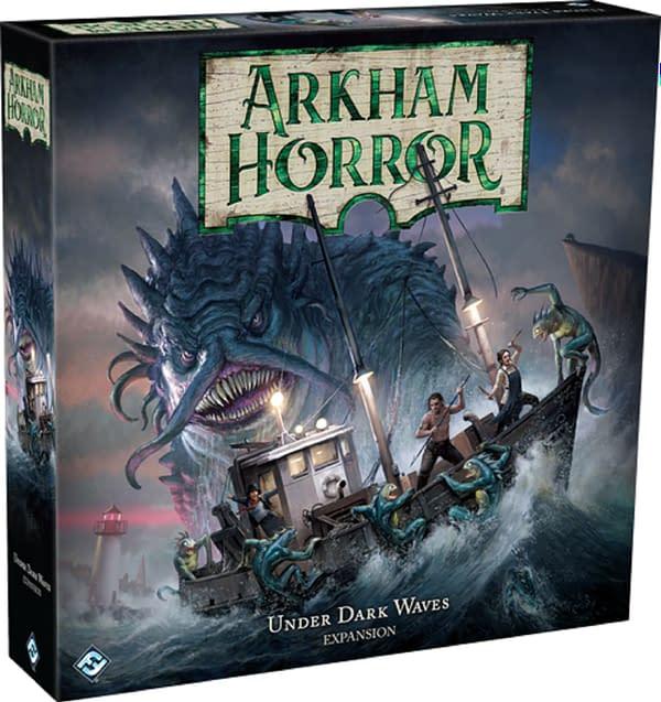 Fantasy Flight Games Arkham Horror Under Dark Waves Delayed due to Coronavirus