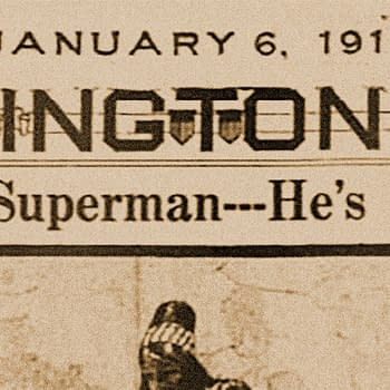 The Superman--He's Here, The Washington Times, 06 Jan 1918, via newspapers.com.