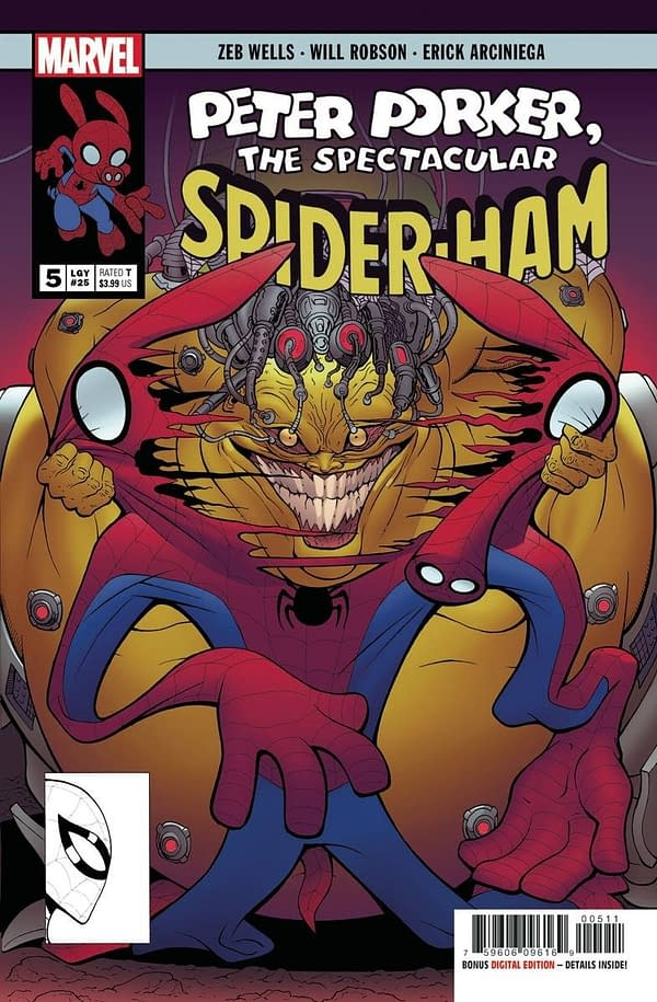 Spider-Ham #5 Main Cover