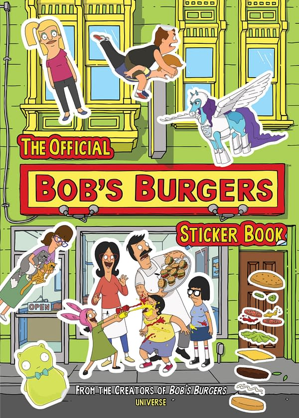 Bob's Burgers Sticker Book (Rizzoli)