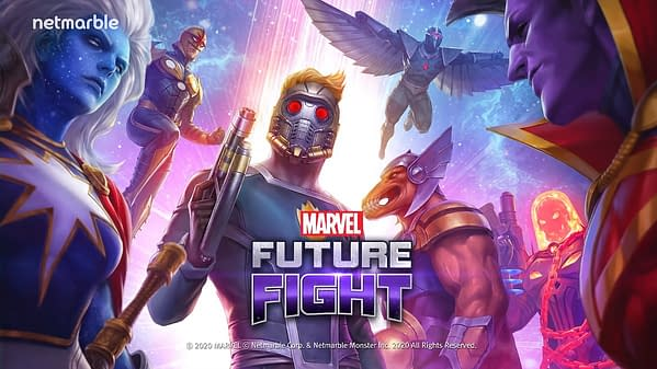 More characters from GotG come to Marvel Future Fight, courtesy of Netmarble.