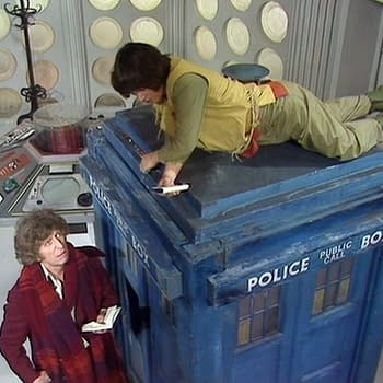 A scene from Doctor Who, courtesy of BBC Studios.