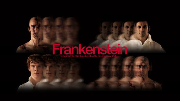 Benedict Cumberbatch et Jonny Lee Miller à Frankenstein, gracieuseté du National Theatre.