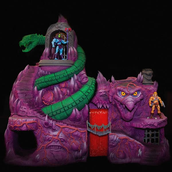 Masters of the Universe Collectors: Super7's Snake Mountain is Available to Order!