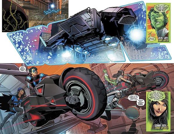 Titans #23 art by Brandon Peterson and Ivan Plascencia