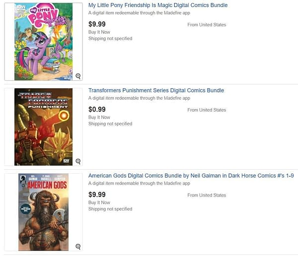 eBay To Sell Digital Comic Books from Today