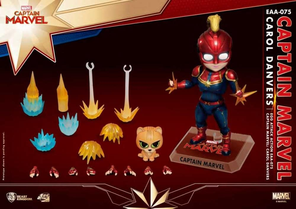 Beast Kingdom Captain Marvel Egg Attack Previews Exclusive 4