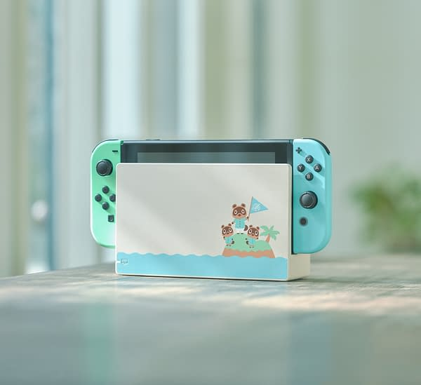 "Nintendo Reveal A new ""Animal Crossing"" Themed Nintendo Switch"