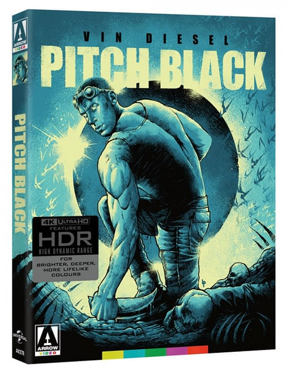 Vidéo spéciale Pitch Black 4K Blu-ray en août