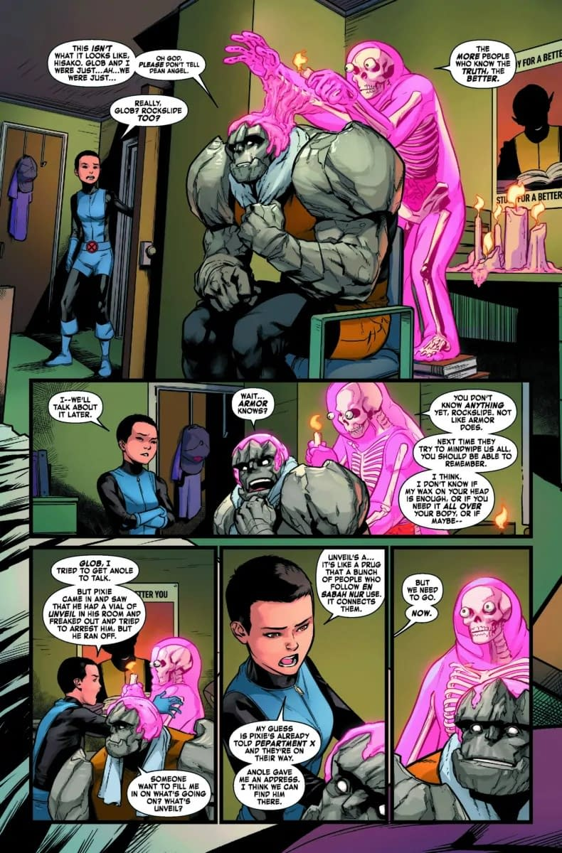 Pixie the Snitch - Age of X-Man: NextGen #4 Preview