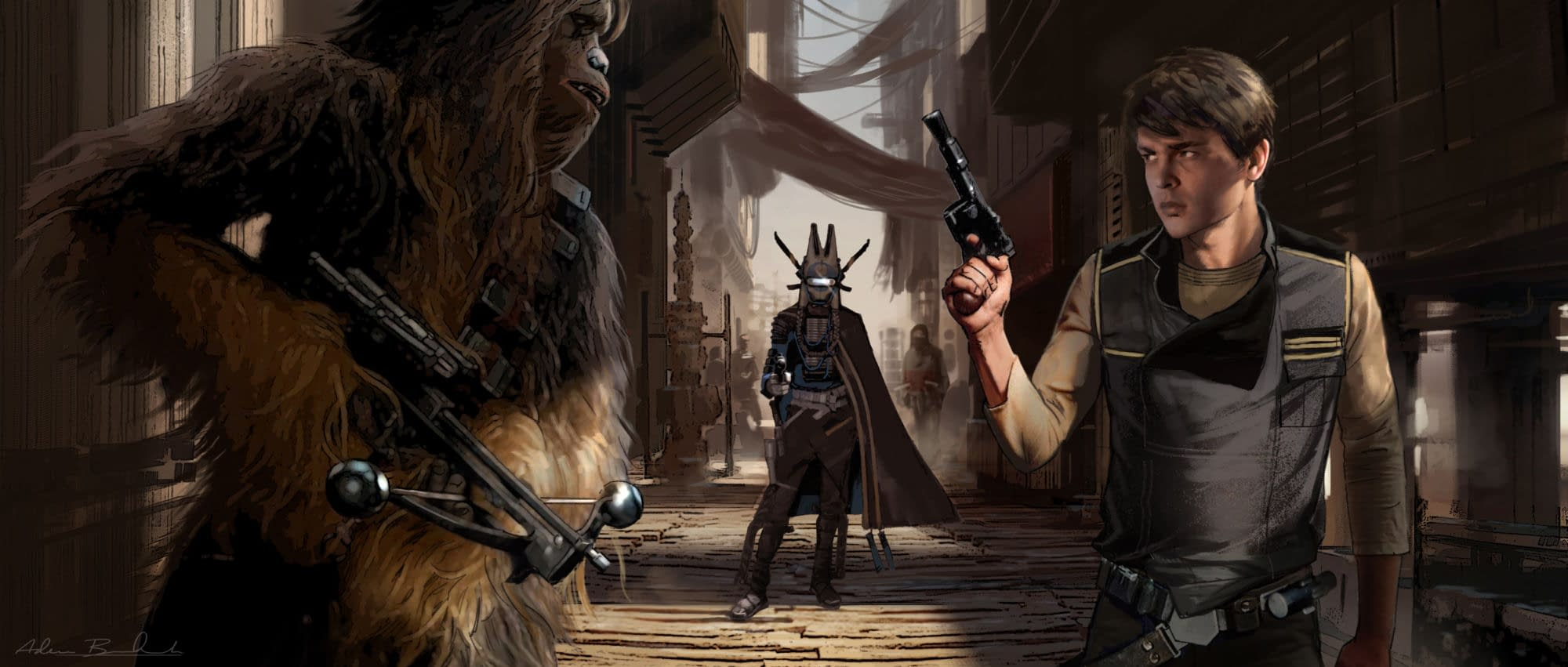 Solo: A Star Wars Story – Concept Art, A Deleted Scene, and a Featurette