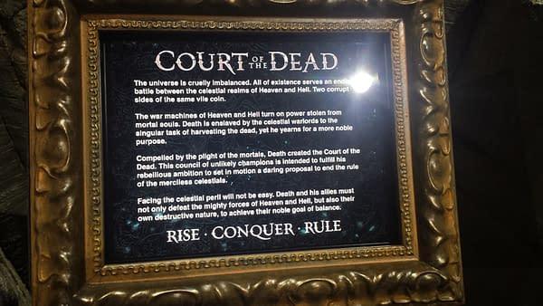 court of the dead sideshow