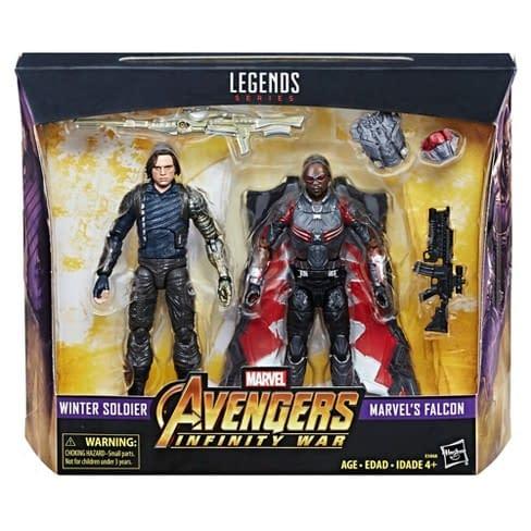 Avengers Infinity War Winter Soldier Falcon
