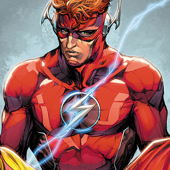 The Flash Annual #1 cover by Howard Porter and Hi-Fi