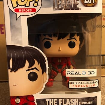 Justice League Regal Cinemas Flash Funko Exclusive 1