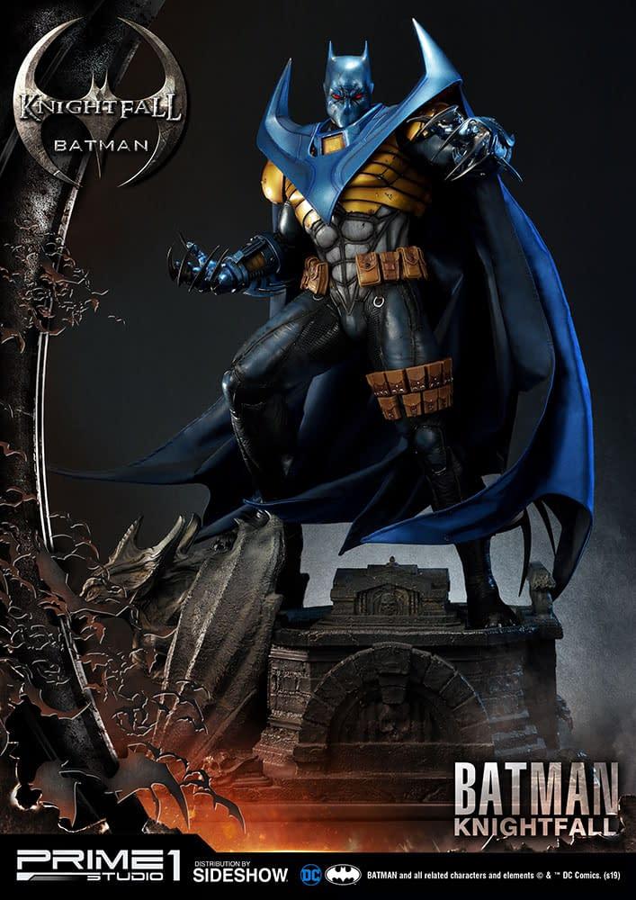 Knightfall Batman Statue from Prime 1 Studio