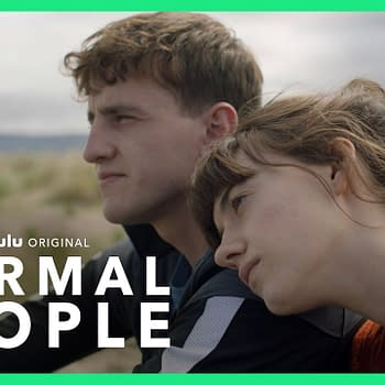 Connell and Marianne are class-crossed lovers in Normal People, courtesy of Hulu.