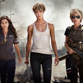 First Official Image For Terminator 6 has Linda Hamilton Mackenzie Davis