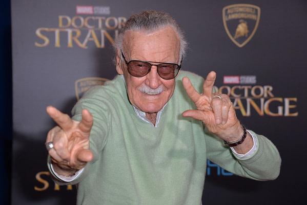Stan Lee à la première mondiale de Marvel Studios '
