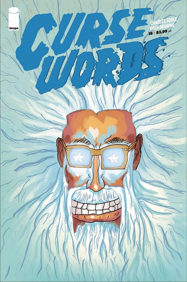 Charles Soule Draws His Own Variant Cover For Curse Words #16 – Be Afraid, Be Very Afraid