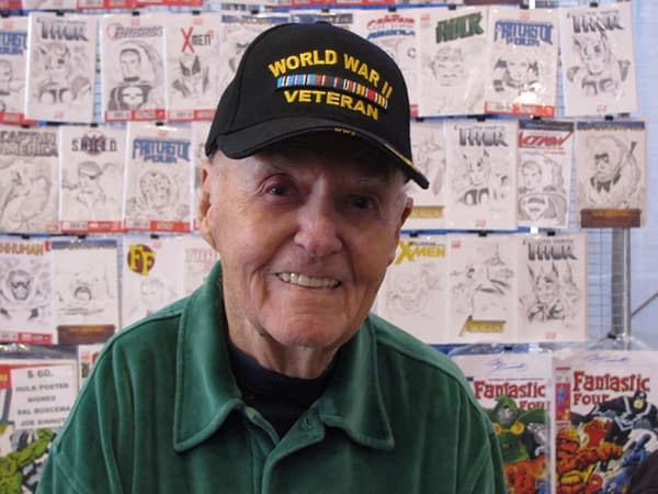 Joe Sinnott, Legendary Comic Book Inker, Dies Ages 93.
