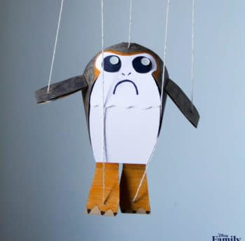 Need More Porgs in Your Home Craft a Porg Puppet