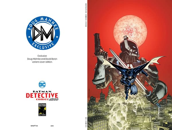 The Only Detective Comics #1000 Cover with the New Arkham Knight On It…