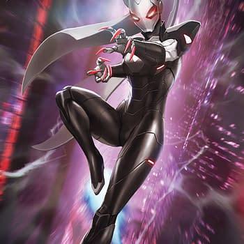 Black Cat's Brand New Costume... Iron Cat