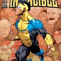 The Covers To Invincible #100 By  Ryan Ottley Corey Walker Marc Silvestri Bryan Hitch Art Adams And Charlie Adlard