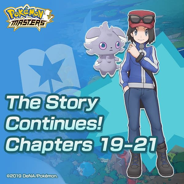"""""""Pokémon Masters"""" Adds In Three New Chapters With More Callbacks"""
