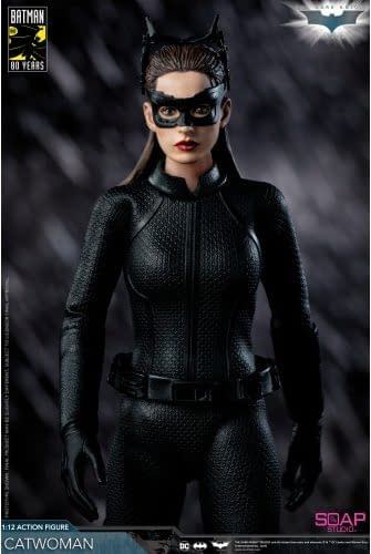 Dark Knight Trilogy Catwoman Gets New Figure from Soap Studio