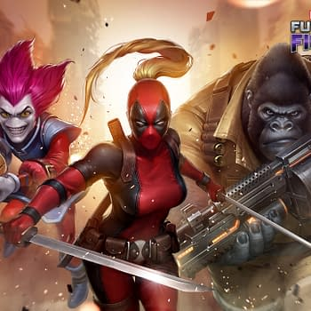 "Deadpool's ""Mercs For Money"" Drop Into ""Marvel Future Fight"""
