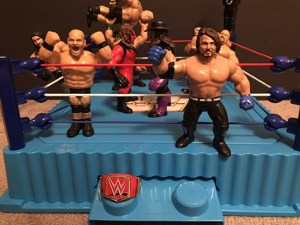 Mattel WWE Retro Ring 7