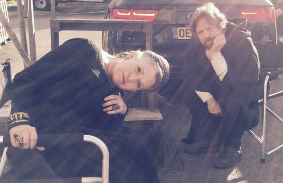 Mark Hamill Can't Bring Himself to Watch That Final Scene with Carrie Fisher