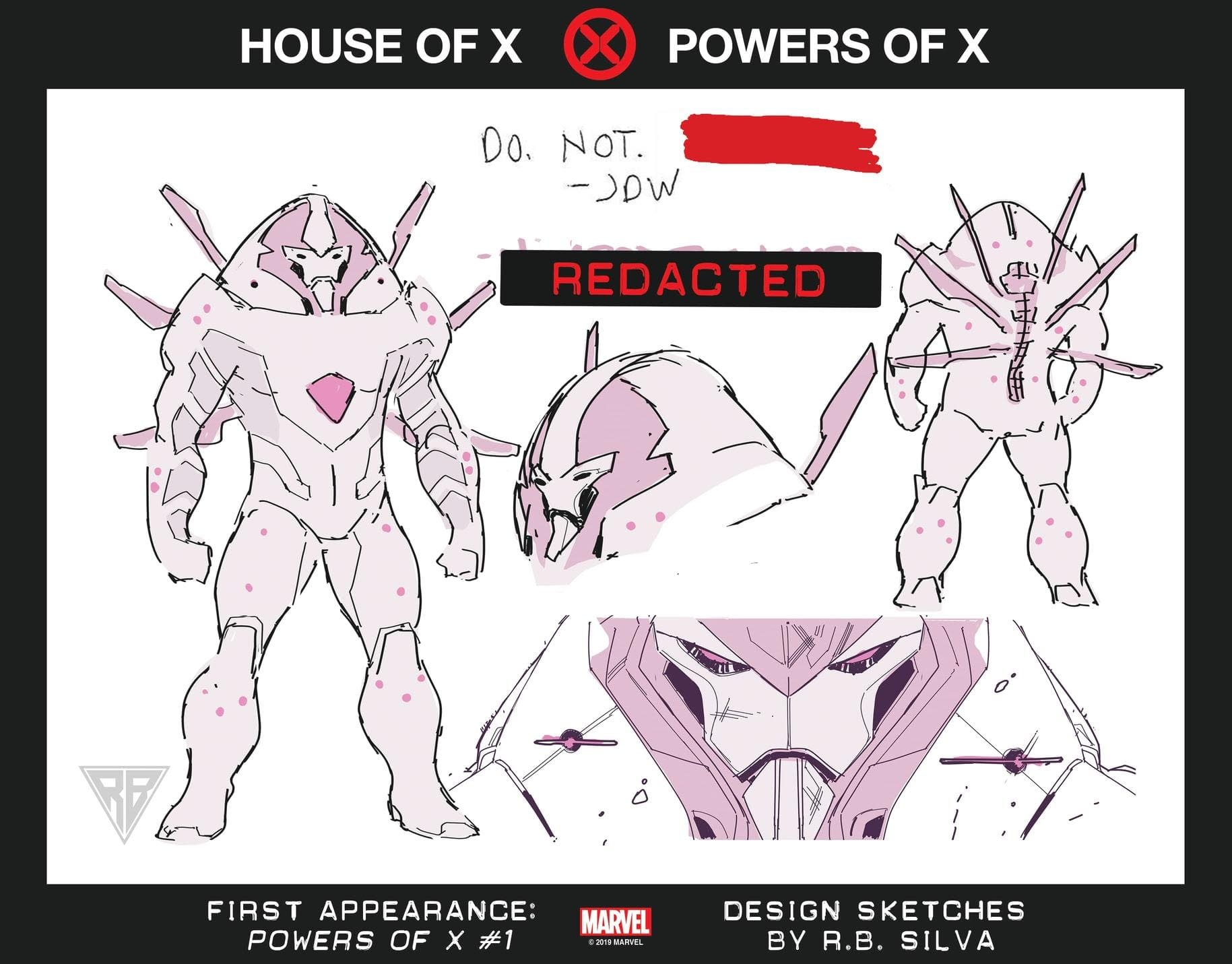 Marvel Reveals Designs for 7 New Mutants for Powers of X, X-Men Relaunch
