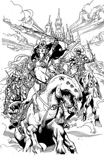 Dejah Thoris #6 1-In-11 Copy Variant Cover