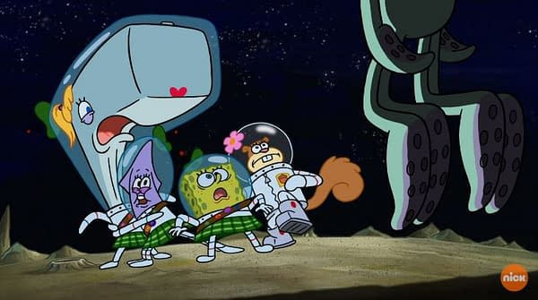SpongeBob SquarePants 'SpaceBob MerryPants': It's Lunar Lunacy in Nickelodeon Holiday Special