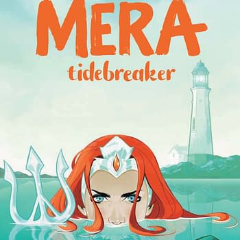First Preview of Mera: Tidebreaker by Danielle Page and Stephen Byrne