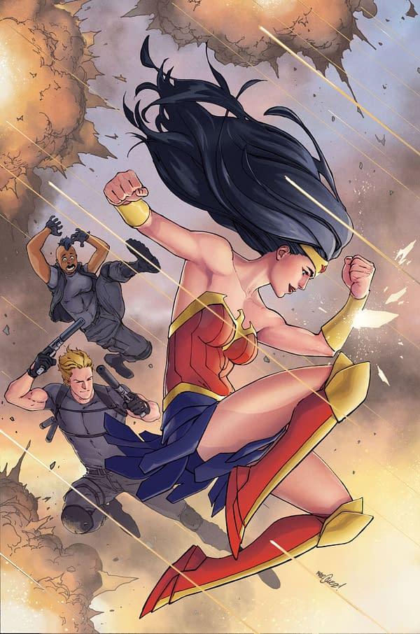 Mariko Tamaki to Write Wonder Woman Ongoing, Brings Back Maxwell Lord