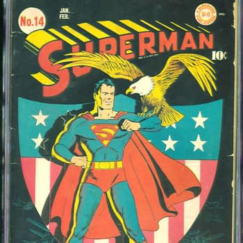 Superman 14, Jan/Feb 1942, DC Comics.
