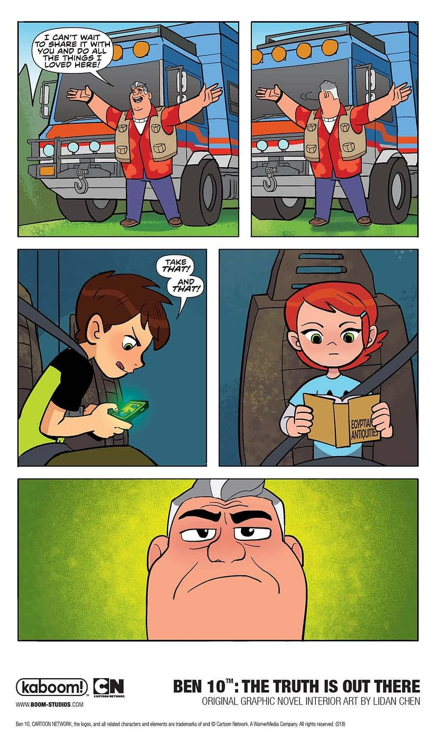 A First Look at Ben 10: The Truth is Out There is In Here
