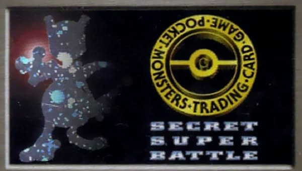 "The artwork for ""No. 1 Trainer"" from the Super Secret Battle series of the original Pokémon Trading Card Game. Artwork by Hideki Kazama."