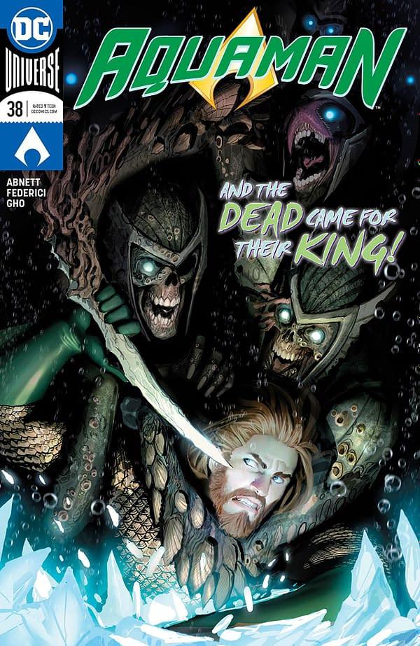 Aquaman #38 cover by Stjepan Sejic