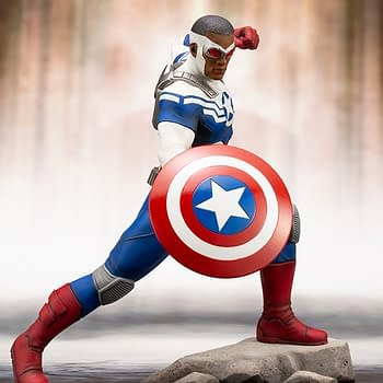 Kotobukiya Sam Wilson Captain America Statue Coming in 2019